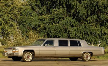 207: 1980 Cadillac Fleetwood 75 Limousine