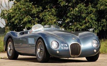 211: 1976 Jaguar C-Type Heritage Replica