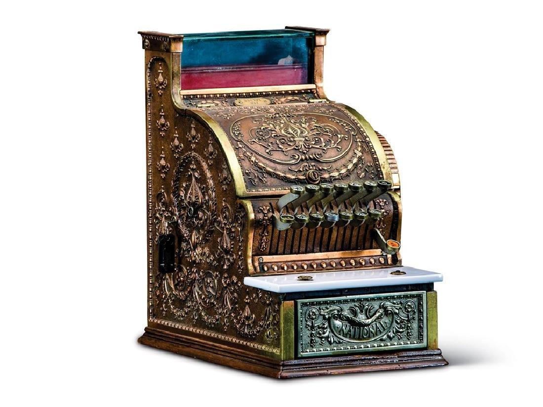 National Candy Store Brass Cash Register