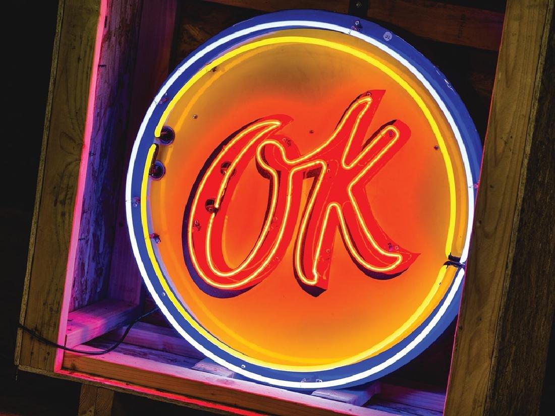 Chevrolet OK Neon Sign