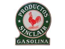 Sinclair Productos Gasolina Sign