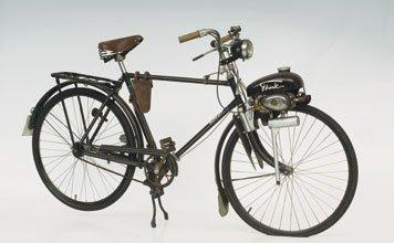 703: 1953 Dürkopp Bicycle with Flink Engine