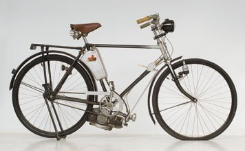705: 1954 Diamant Bicycle with Steppke Engine