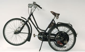 706: 1951 Ladies' Bicycle with Cyclemaster Engine