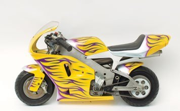711: 1997 Polini 910 Carena Pocketbike