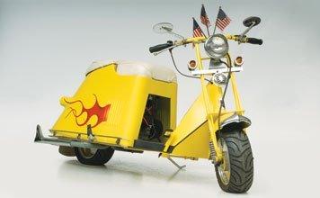 713: 1952 Cushman Customized Scooter