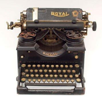 101: Royal Standard Typewriter