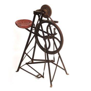 106: Foot-Powered Grinding Wheel