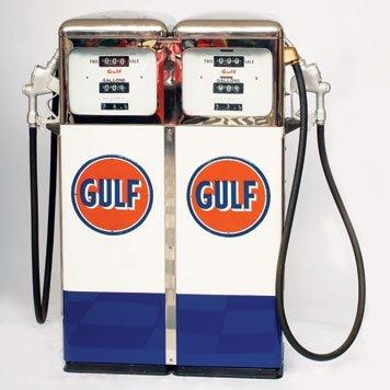 448: Gulf Gas Pump
