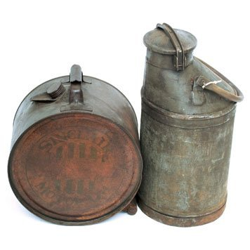 603: Period Oil Cans