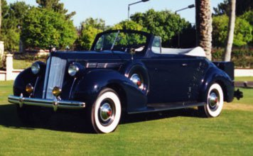 104: 1938 Packard Eight Convertible Coupe