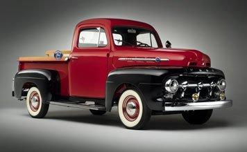 107: 1952 Ford F1 1/2-Ton Pickup Truck