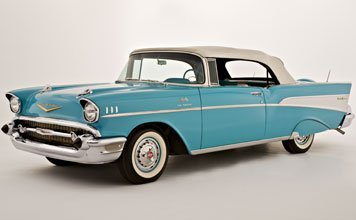 112: 1957 Chevrolet Bel Air Fuel Injected Convertible
