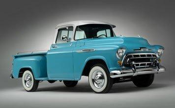 114: 1957 Chevrolet 3100 1/2-Ton Pickup Truck