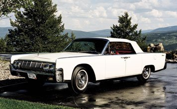 122: 1964 Lincoln Continental Convertible
