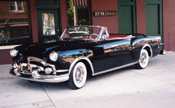 124: 1953 Packard Caribbean Convertible