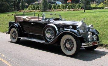 131: 1930 Packard Custom Eight Roadster