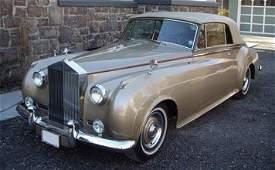 164 1962 RollsRoyce Silver Cloud III Drophead Coupe