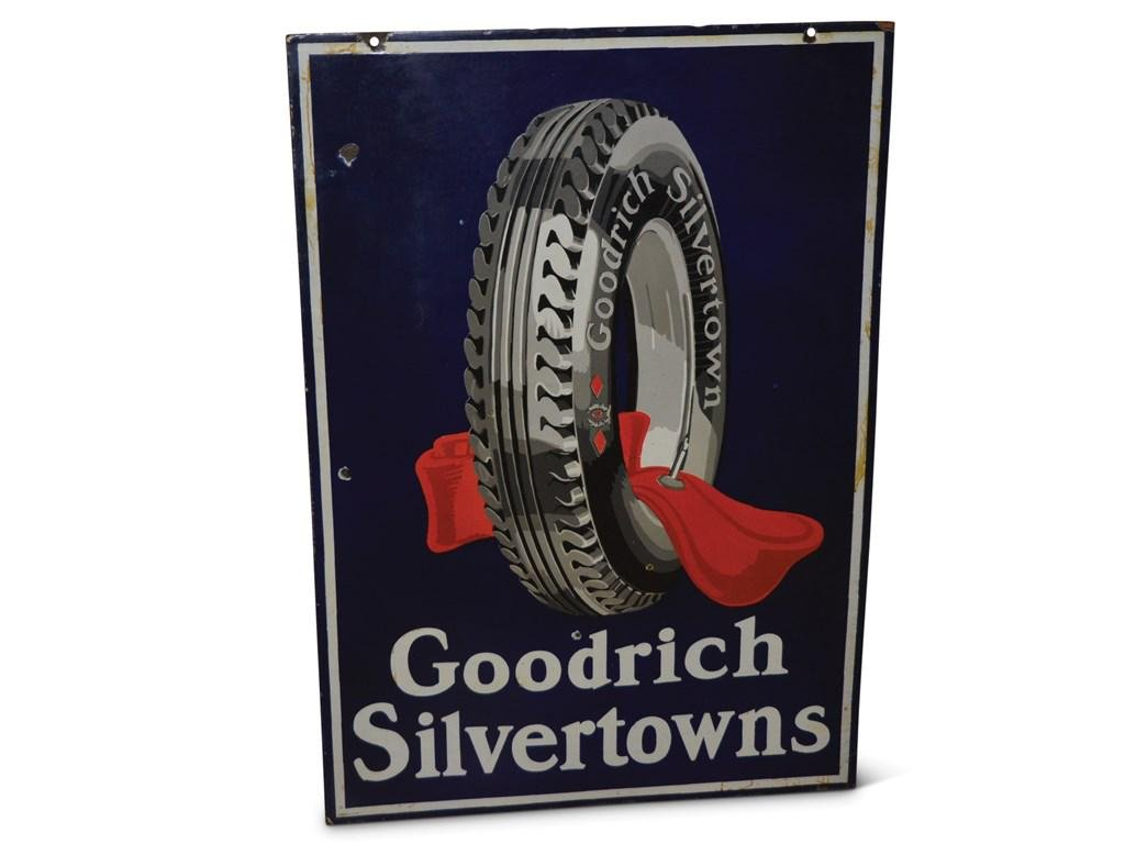 Goodrich Silvertowns with Tire and Red Tube Porcelain
