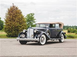 1935 Packard Twelve Convertible Sedan by Rollston