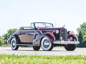 1936 Cadillac V-12 Convertible Coupe by Fleetwood
