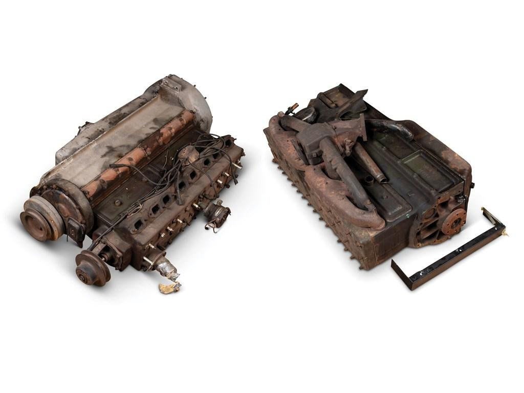 Pair of Packard Straight Eight Engines