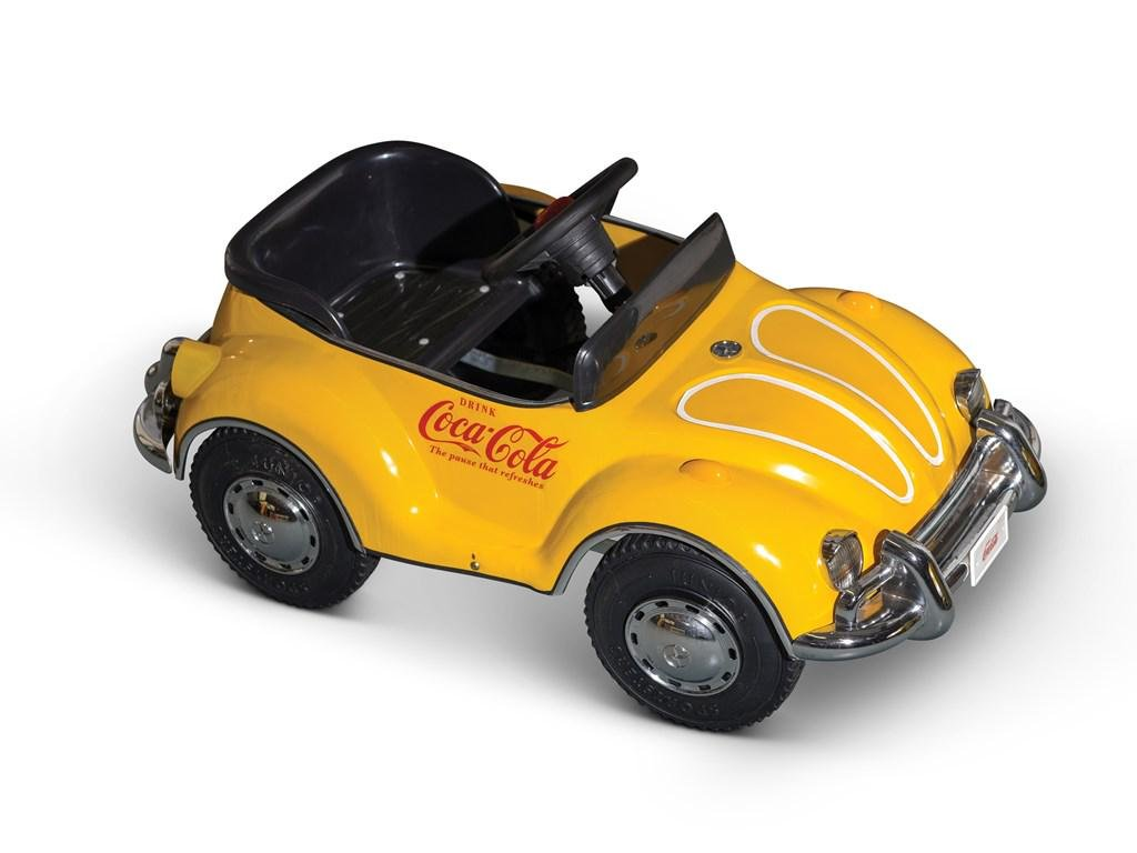 Coca-Cola Beetle Pedal Car