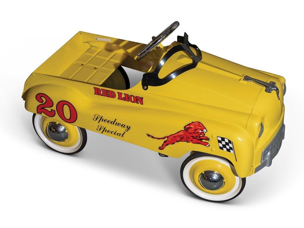 Red Lion Pedal Car