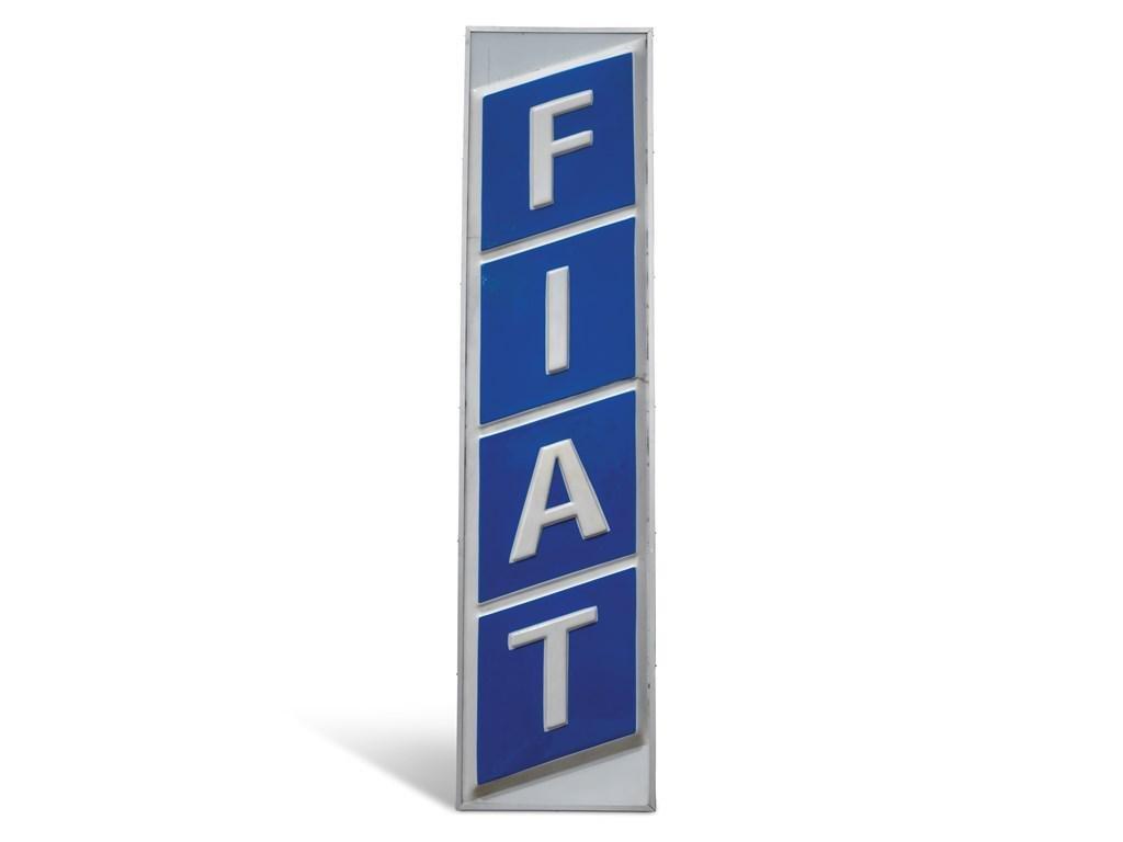 Fiat Dealership Large Sign