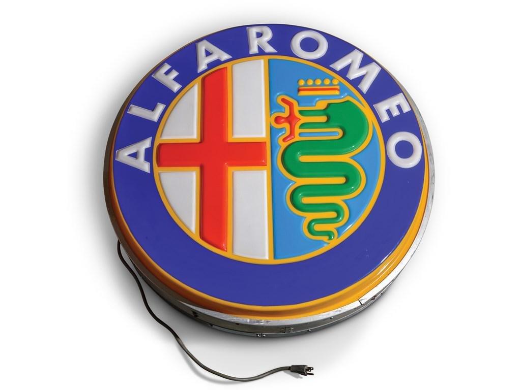 Alfa Romeo Dealership Small Sign