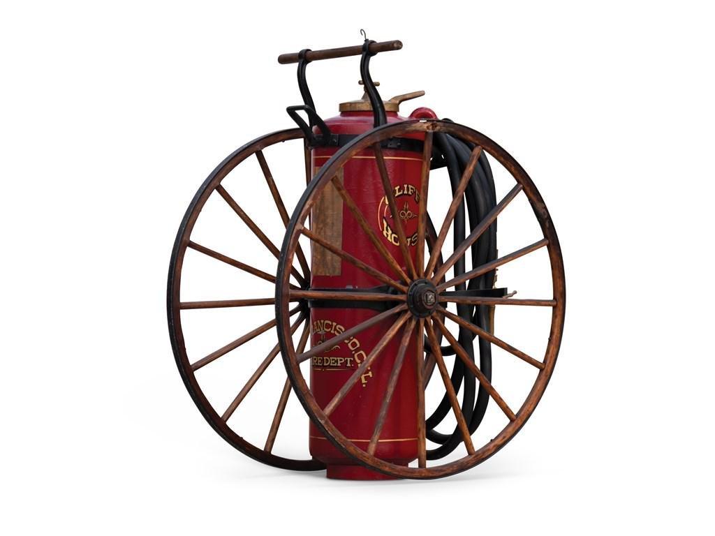 """Foamite"" Wheeled Fire Extinguisher"