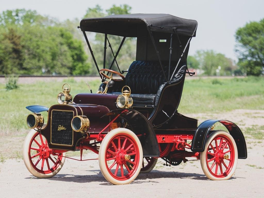 1906 Cadillac Model K Victoria Runabout
