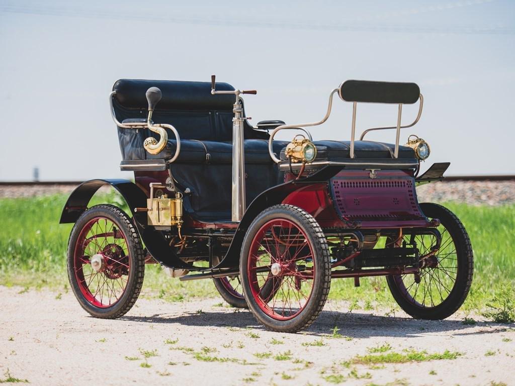 1900 De Dion-Bouton Type E Vis-?-Vis Voiturette