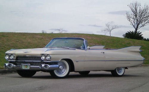 217: 1959 Cadillac Series 62 Convertible Coupe