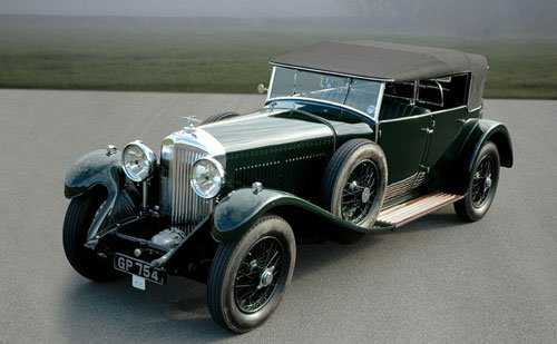263 1931 Bentley 8 Litre Open Tourer By Harrison
