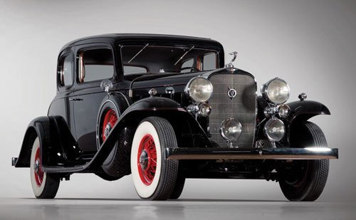 270: 1932 Cadillac V8 Victoria Coupe