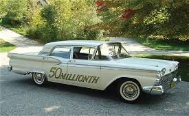 305: 1959 Ford Galaxie 500 Four-Door Sedan