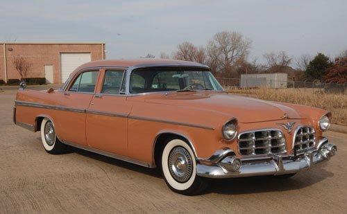 203: 1956 Chrysler Imperial Sedan 4D