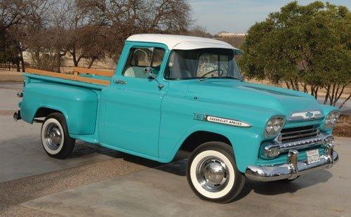205: 1959 Chevrolet Apache Pickup