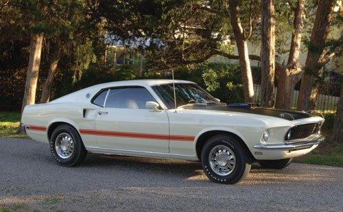 212: 1969 Ford Mustang Mach I R-Code 428 Cobra Jet Spor