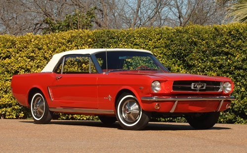 214: 1964 1/2 Ford Mustang Convertible