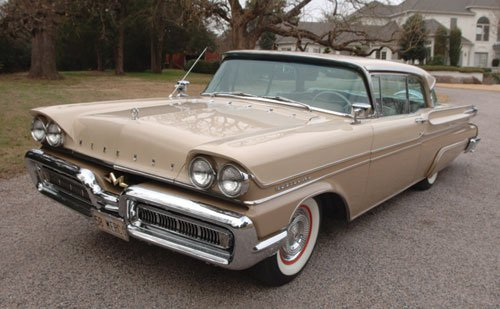 215: 1958 Mercury Montclair Super Marauder Coupe
