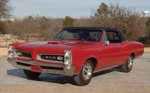 217: 1966 Pontiac GTO Tri-Power Convertible