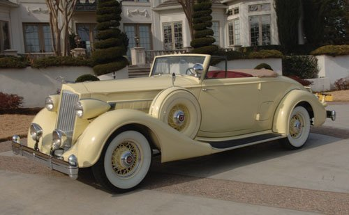 219: 1936 Packard Eight Convertible Coupe