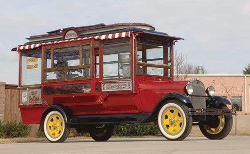 220: 1929 Ford Model AA Cretors Popcorn Truck