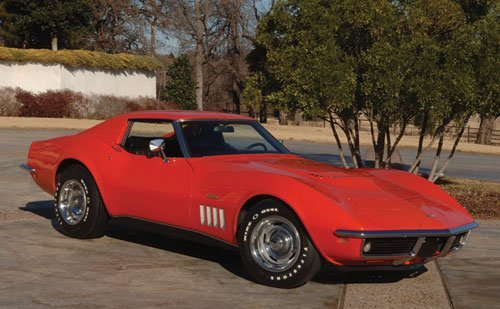 255: 1969 Chevrolet Corvette Stingray Sport Coupe