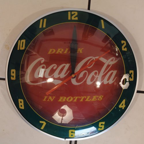 106: Reproduction Coca-Cola Double Bubble Clock