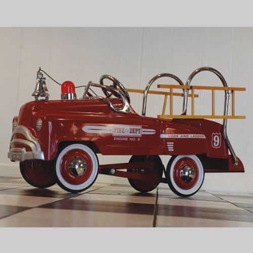 108: Fire Truck Pedal Car