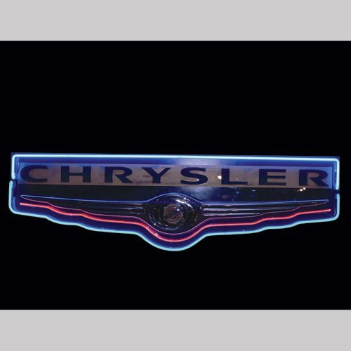 136: Chrysler Neon Sign