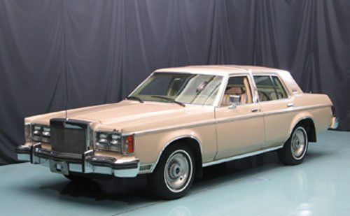 101: 1979 Lincoln Versailles Four Door Sedan